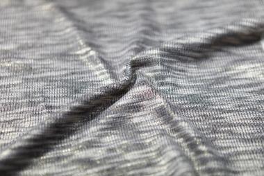 Hachi Knit with Foil Print