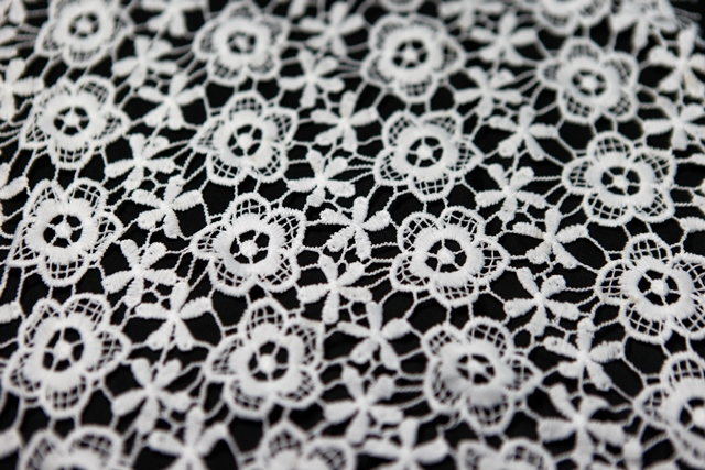 Poly Guipure Embroidery Lace